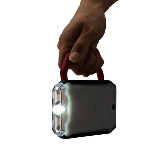 懐中電灯としても使用可能