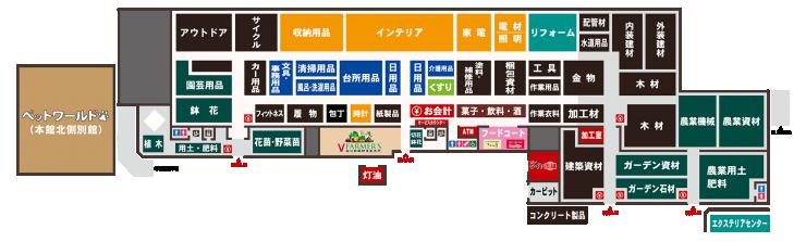 稲沢本館フロアガイド
