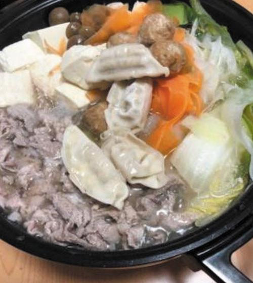 餃子肉団子鍋