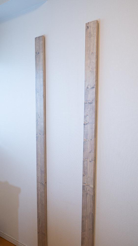柱、設置完了