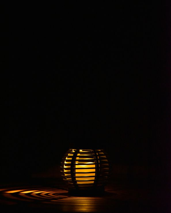 ソーラーラタン調ライトSRL-1616