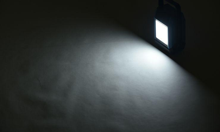 ライト点灯
