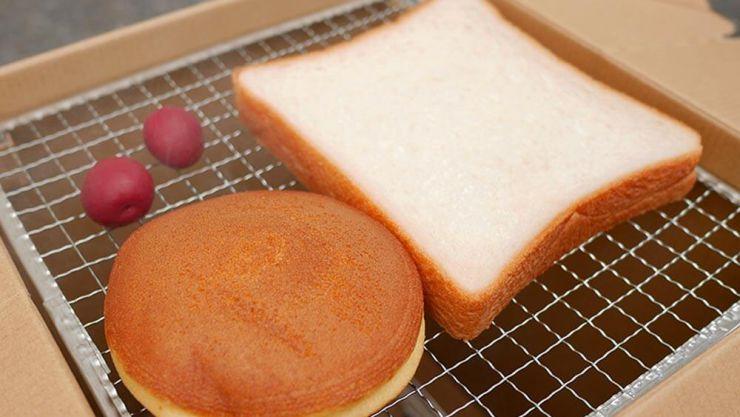 食パン燻製前