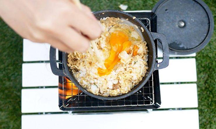 卵を入れる