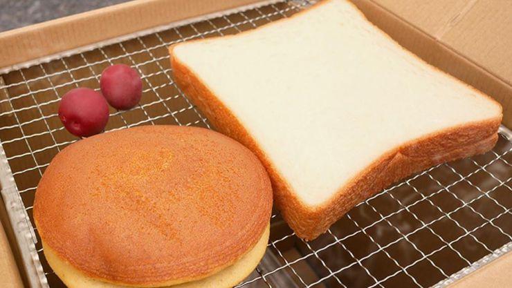 食パン燻製後