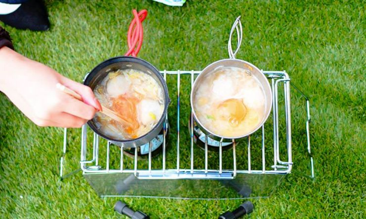 雑炊を作る