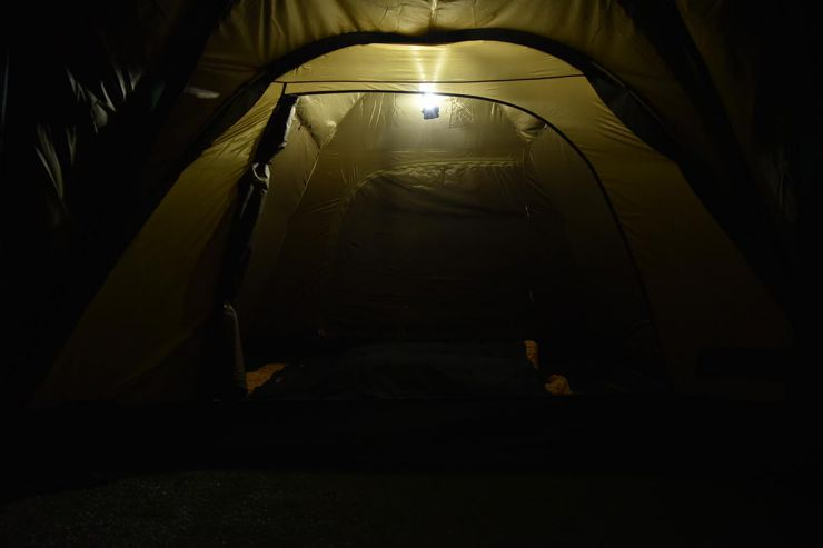 LOGOS(ロゴス)パワーストックラウンドランタン440天井