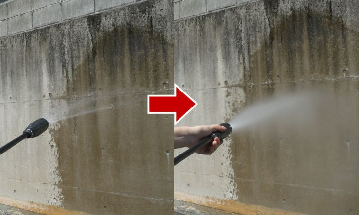 水圧無段階調整