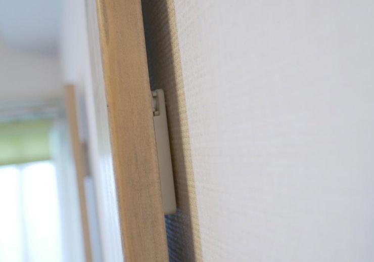 柱と壁の間は結構隙間ができる