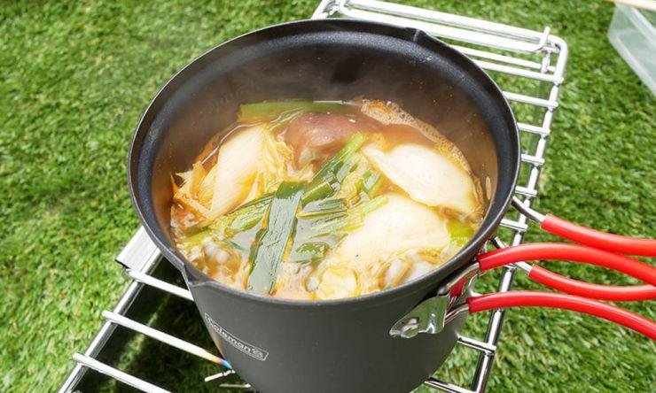 クッカー鍋料理